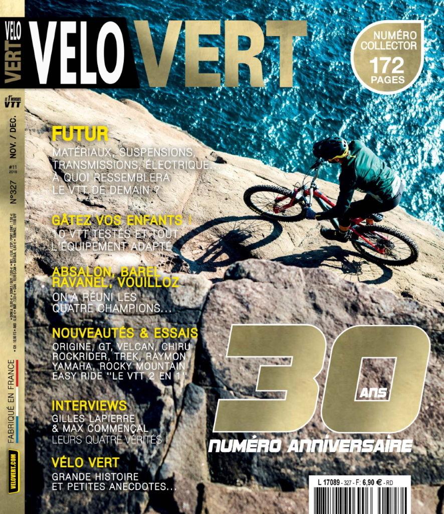 Couverture magazine collector Vélo vert