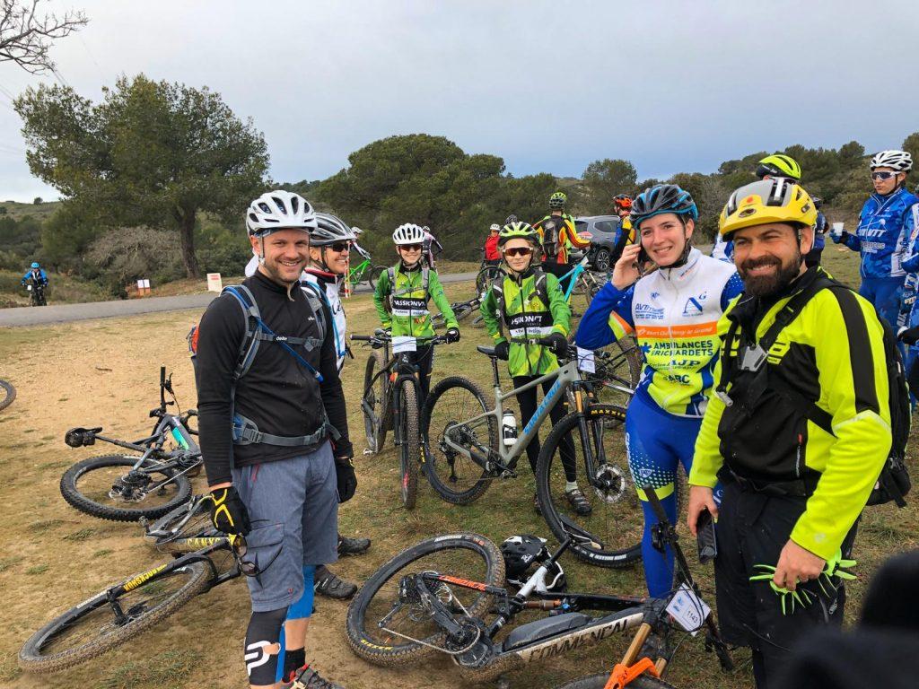 Plusieurs membres du club VTT LUB Pertuis se sont données rendez-vous pour participer à la 18ème Ronde des Costes !